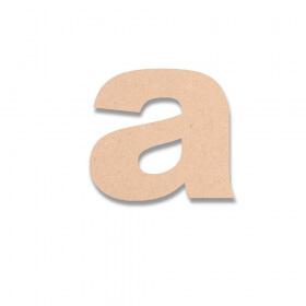 Lettre en bois à peindre Arial Black minuscule - déco créatives avec Em création