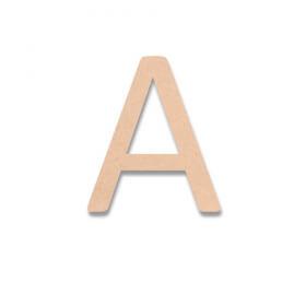 Lettre en bois Calibri