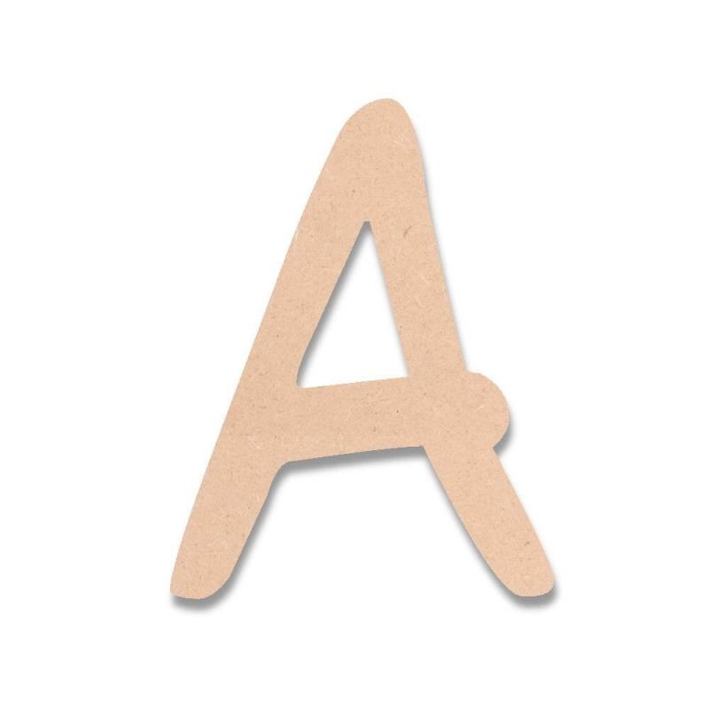 Lettres en bois DJB - Em création