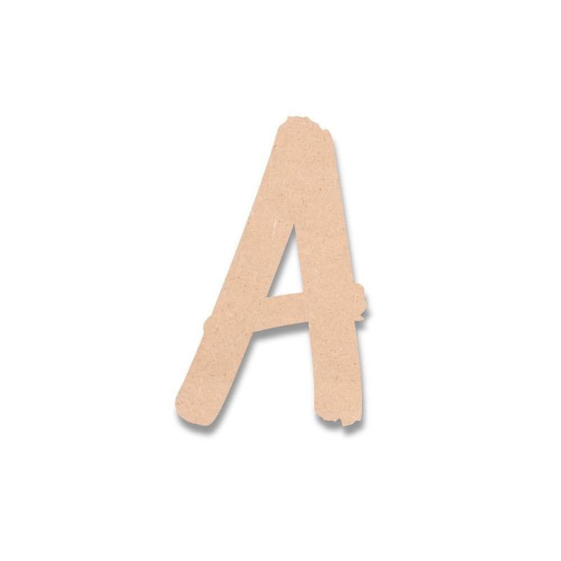 Lettres en bois ART CLUB ROMAN - Em création