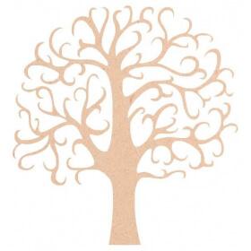 Arbre en bois - déco à peindre - Em création - Em création
