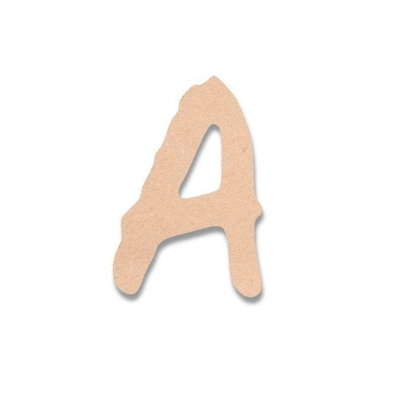 Lettres en bois BROWN FOX - Em création