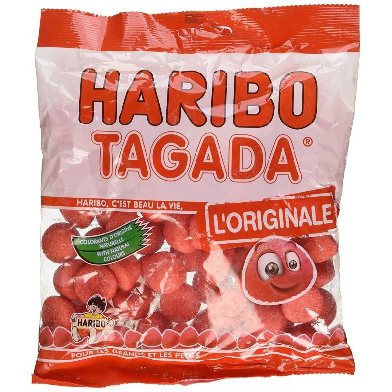 Cadeau Bonbons fraises tagada Haribo 300g