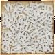 Petites lettres de l'alphabet à peindre - lot de 104 pièces