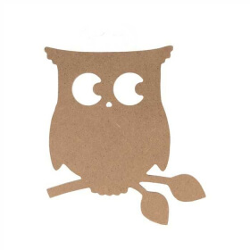 Chouette en bois à décorer - Artemio - Em création