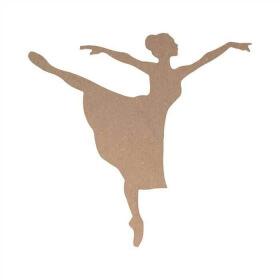 Danseuse à décorer - Danseuse à peindre - loisirs créatifs