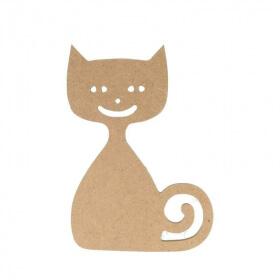 Chat à décorer - Chat à peindre - loisirs créatifs