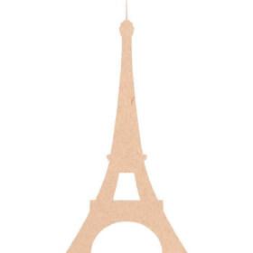 Tour Eiffel en bois à décorer - Miris - Em création
