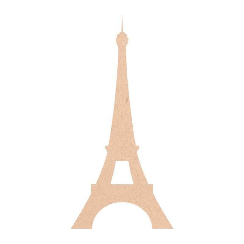 Tour Eiffel en bois à décorer - Miris