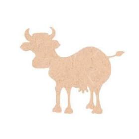 Vache en bois à décorer - Miris - Em création