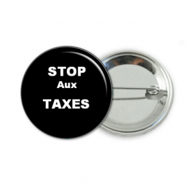 badge Stop aux taxes