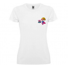 Tee-shirt Super Marraine - Angora