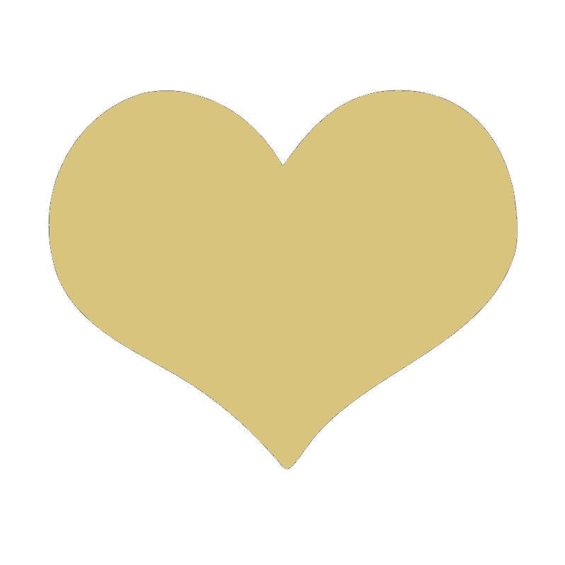 Coeur à décorer - Miris