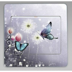 "Sticker ""PAPILLON COUPLE"""