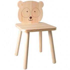 Chaise Panda en bois pour enfant - Artemio - Em création