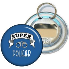 Décapsuleur Policier - Idée cadeau Policier - Angora - Em création