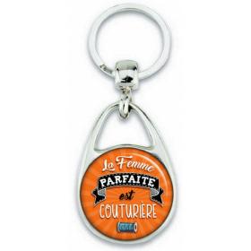 Porte-clés Couturière - Idée cadeau Couturière - Angora - Em création