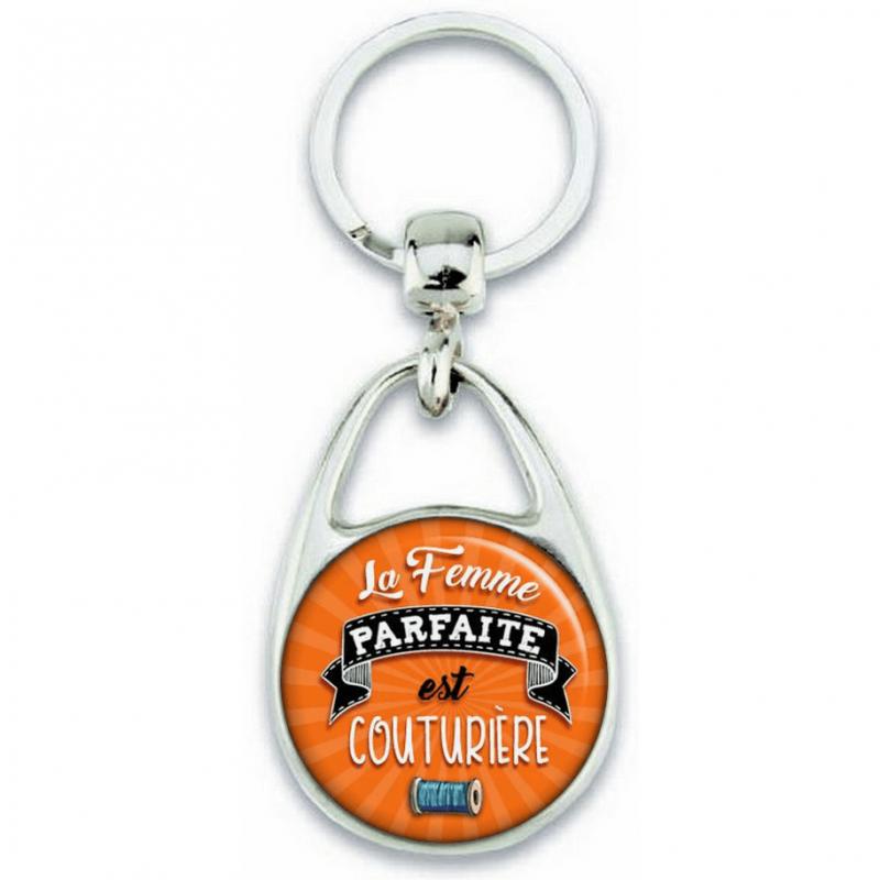 Porte-clés Couturière - Idée cadeau Couturière - Angora