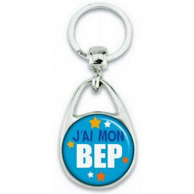 Porte-clés J'ai mon BEP - Angora - Em création