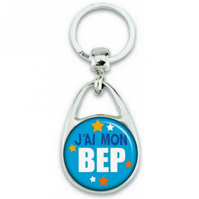 Porte-clés J'ai mon BEP - Angora