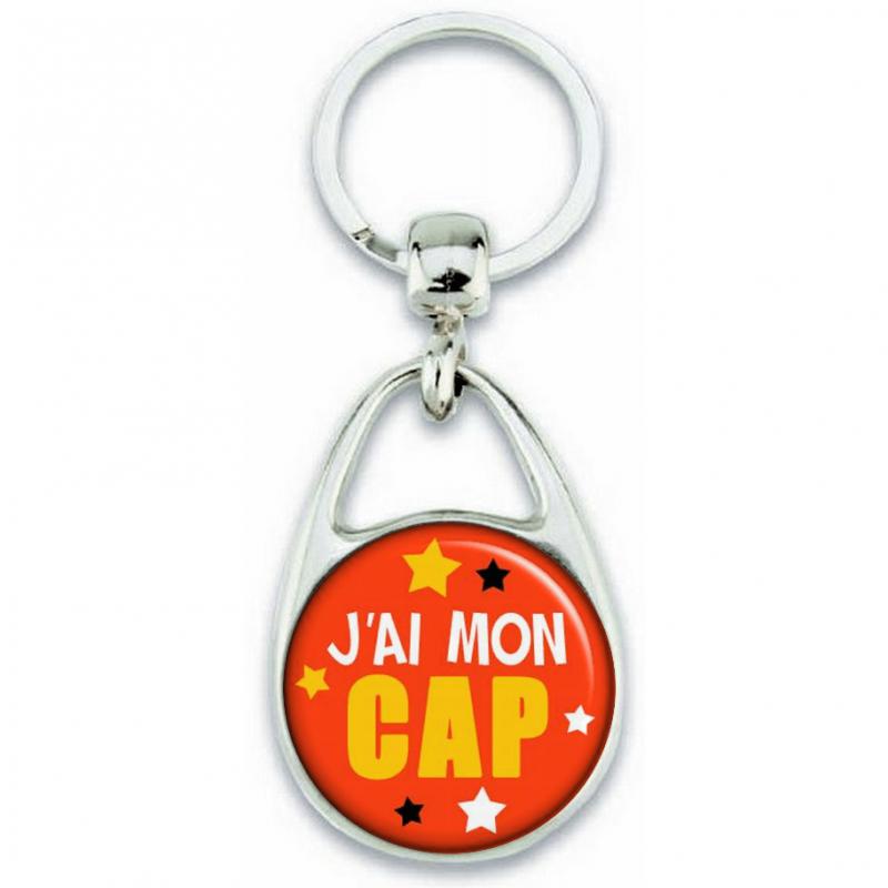 Porte-clés J'ai mon CAP - Angora