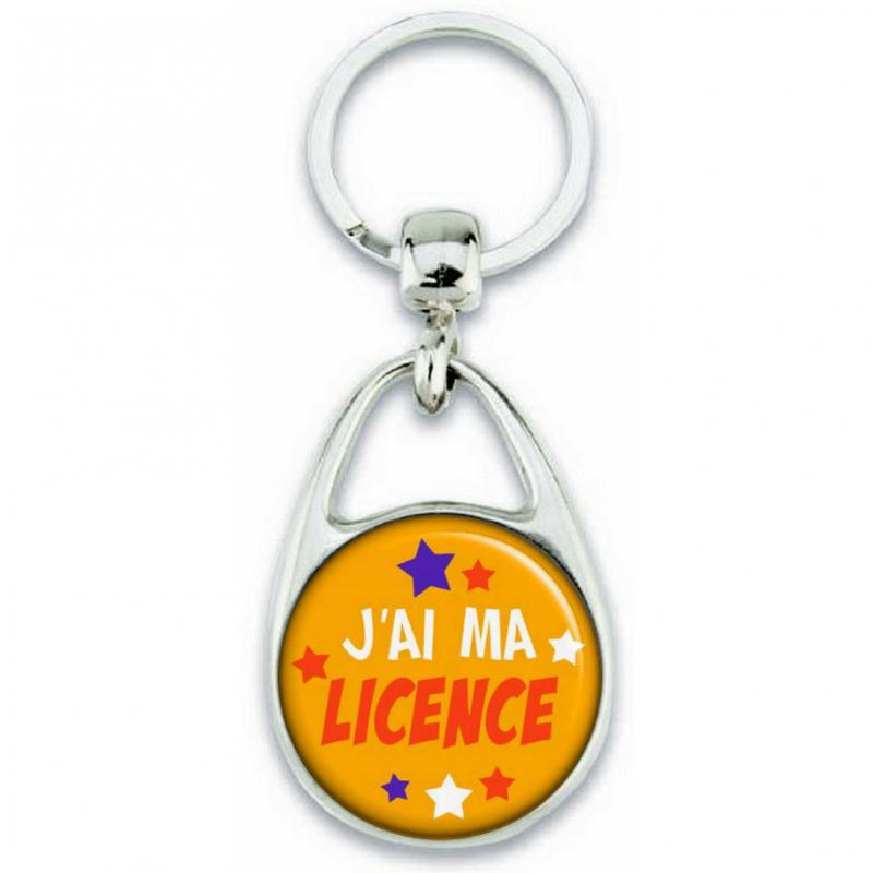 Porte-clés J'ai ma Licence - Angora