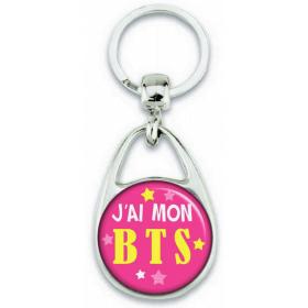 Porte-clés J'ai mon BTS - Angora - Em création