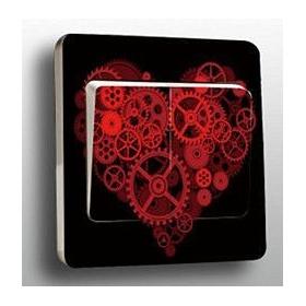 """Sticker """"COEUR ROUE DENTEE"""" - Em création"""
