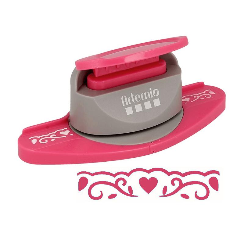 Perforatrice Bordure Frise Coeurs - Artemio