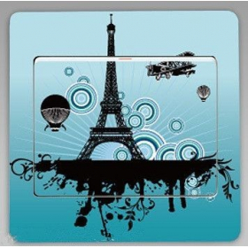 "Sticker ""PARIS NIGHT TOUR EIFFEL"""