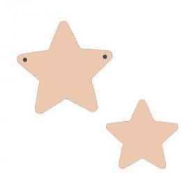 Suspension étoile à décorer - Miris - Em création