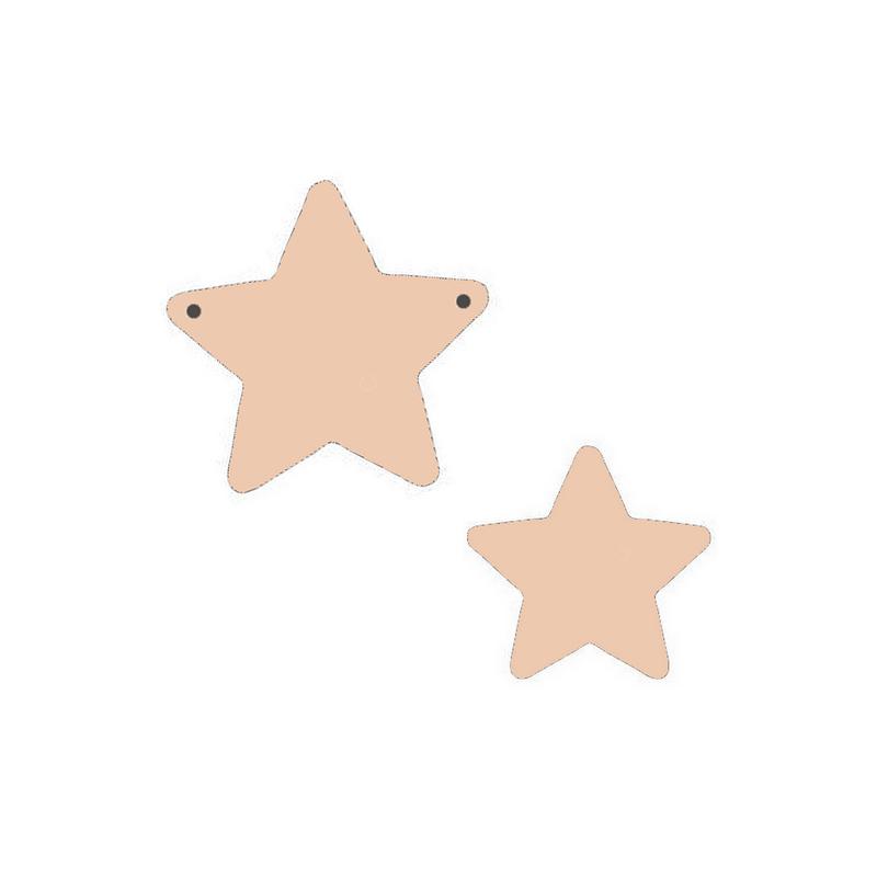 Suspension étoile à décorer - Miris