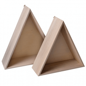 Etagères 3 triangles - Décoration chambre d'enfant - Em création