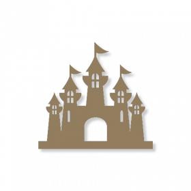Chateau de princesse à décorer - à peindre - déco chambre de fille - Miris - Em création