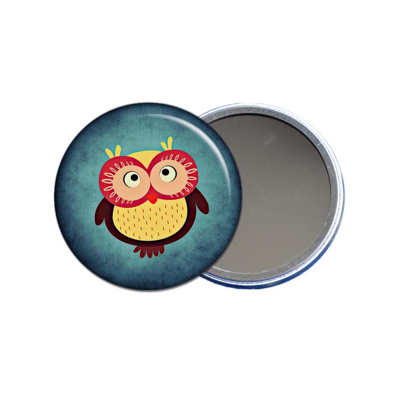 Miroir de poche - Idée cadeau pratique pour femme - angora