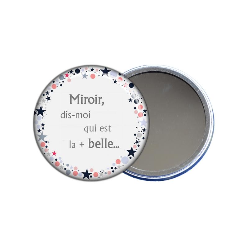 miroir de poche dis moi qui est la plus belle en vente sur em-creation.fr