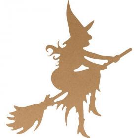 Sorcière à décorer - Artemio - Halloween - Em création
