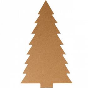 Sapin à décorer en bois - Artemio - Em création