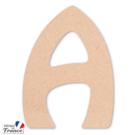 Lettre à décorer - Alphabet en bois - Miris - Em création