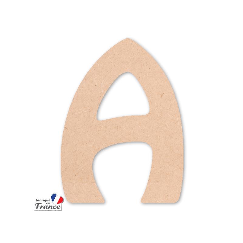 Lettre à décorer - Alphabet en bois - Miris