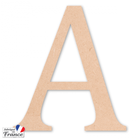 Lettres et chiffres en bois CAMBRIA - Em création - Em création