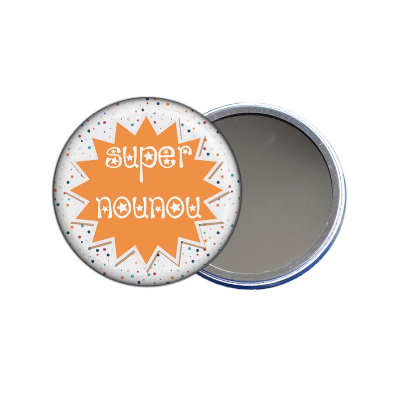 Miroir de poche nounou - Angora