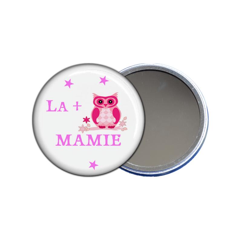 miroir de poche la plus chouette mamie - toutes les idées cadeaux sont sur em-creation.fr