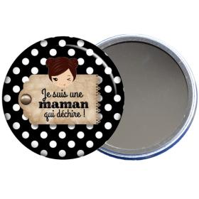 Miroir de poche pour maman en vente sur em-creation.fr - Em création