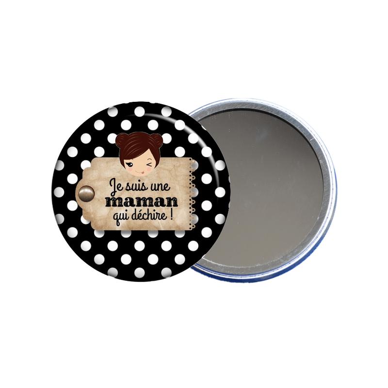 Miroir de poche pour maman en vente sur em-creation.fr