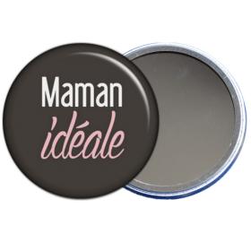 miroir de poche maman idéale - toutes les idées cadeaux sont sur em-creation.fr - Em création