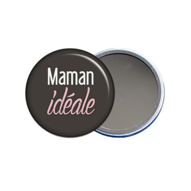 miroir de poche maman idéale - toutes les idées cadeaux sont sur em-creation.fr