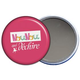 miroir de poche nounou qui déchire rose - toutes les idées cadeaux sont sur em-creation.fr - Em création