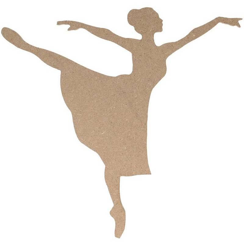 Danseuse à décorer - loisirs créatifs