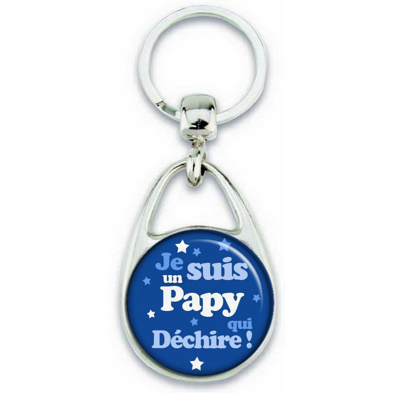 Porte clés Papy - Angora - Em création
